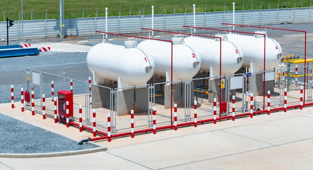 گاز مایع صنعتی LPG