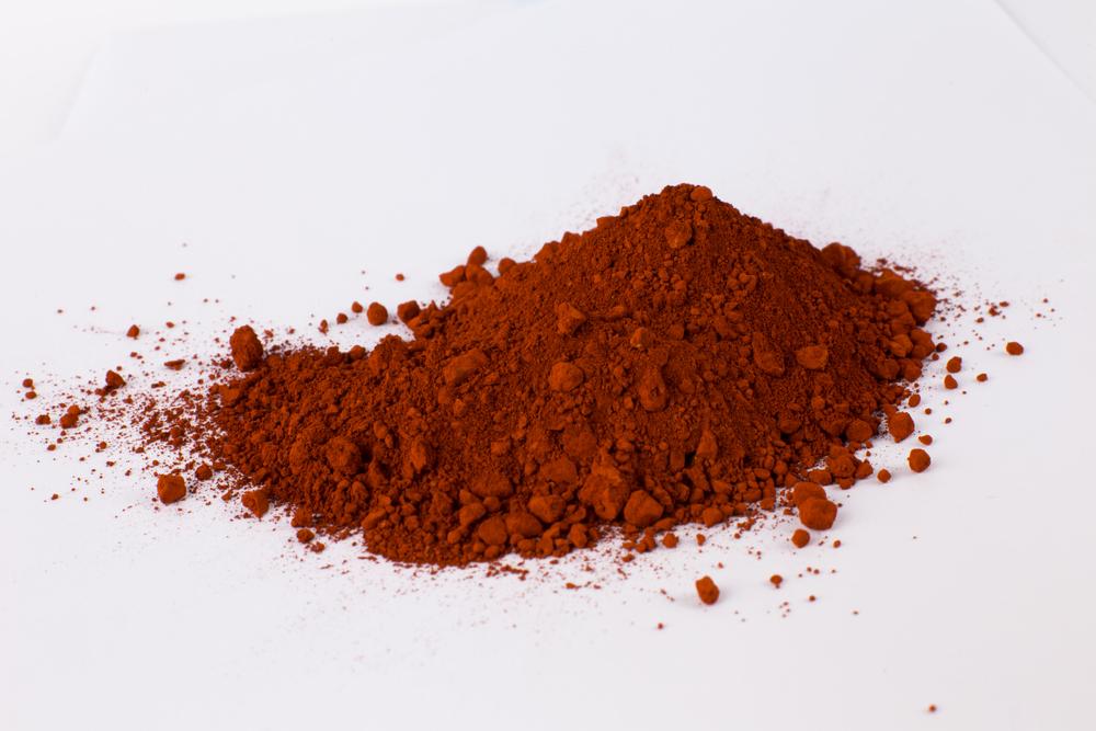 گل اخرا - اخرای قرمز - اخرای سرخ - هماتیت معدنی - اکسید آهن قرمز